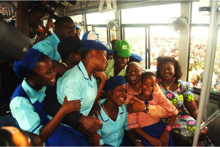 It's 7th Anniversary of Ondo's FREE School Bus Shuttle Scheme  Launched by Dr @Segunmimiko on #June12 2012  90 Buses taking an average of 56k schoolchildren to & from schools daily since 2012. Fully run by d civil service.  Arguably, 1st of its kind in Africa  Congrats Ondo <br>http://pic.twitter.com/4voDlmdARB