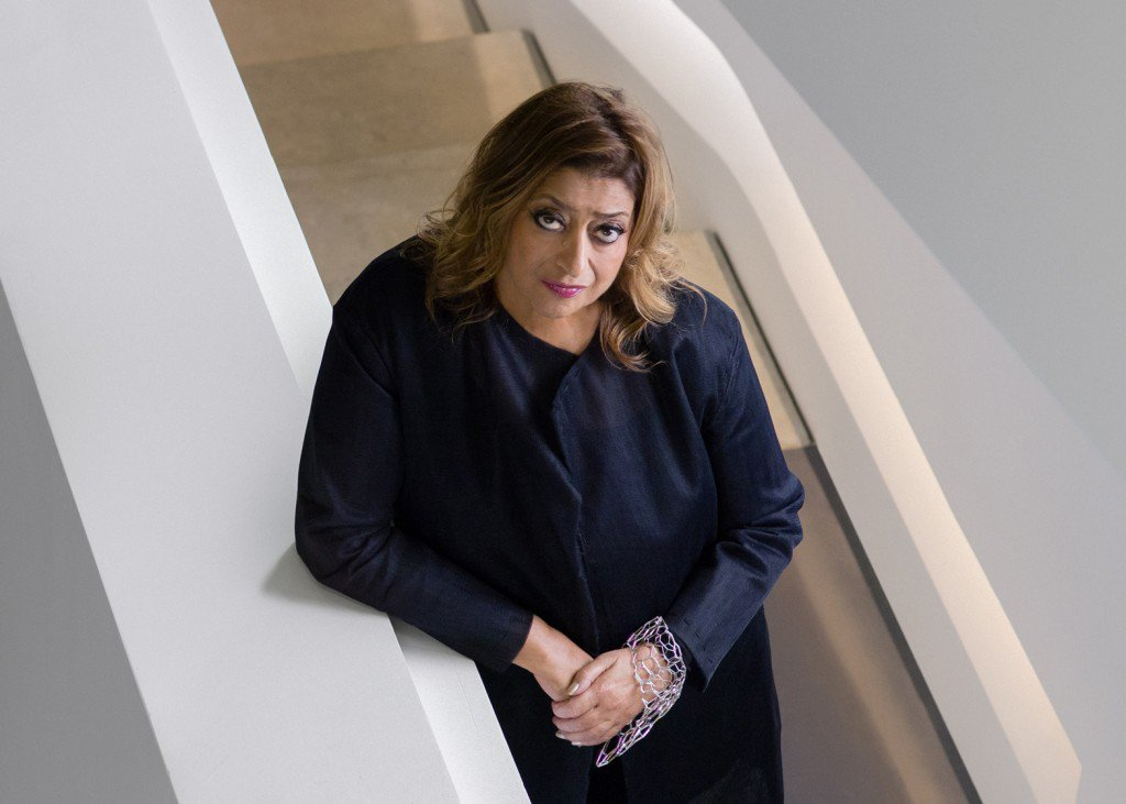 """""""I don't think that #architecture is only about shelter, is only about a very simple enclosure. It should be able to excite you, to calm you, to make you think."""" — Zaha Hadid #WisdomWednesday (Portrait by Virgile Simon Bertrand.) <br>http://pic.twitter.com/dxQHjbWQj6"""