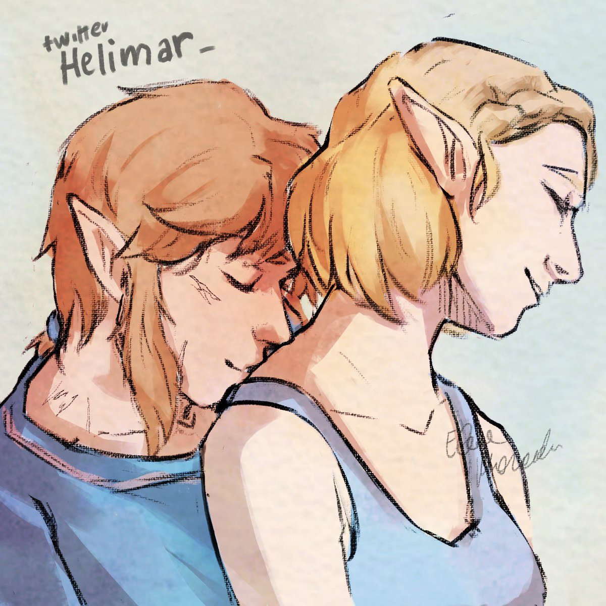 Now is easier kissing her back   #zelink #loz #botw2 #TheLegendOfZeldaBreathOfTheWild2 #TheLegendofZelda #BreathoftheWild #BreathoftheWild2<br>http://pic.twitter.com/lA0qgNULW5