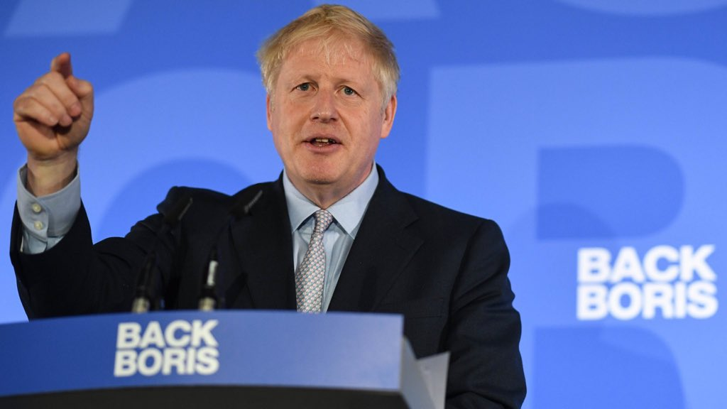 Today I set out my vision for sensible, pragmatic, One Nation Conservatism. We must deliver Brexit by Oct 31st, restore faith in our democracy, and support the wealth creators that fund our vital public services. Together, we will succeed > backboris.com