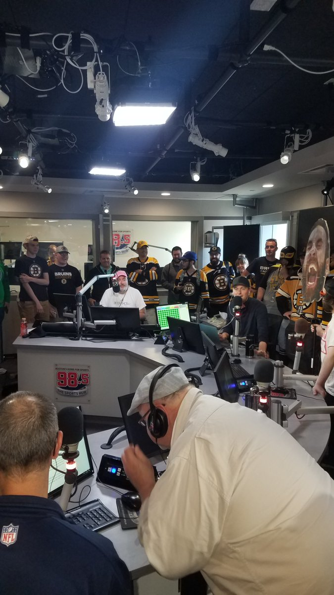 Unbelievable time with @Toucherandrich in studio today!! #Game7Chaos