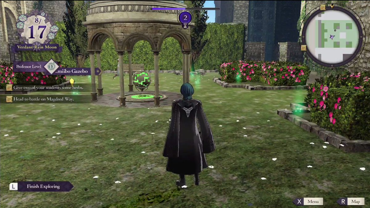 FE Three Houses appears to have amiibo support, as there is
