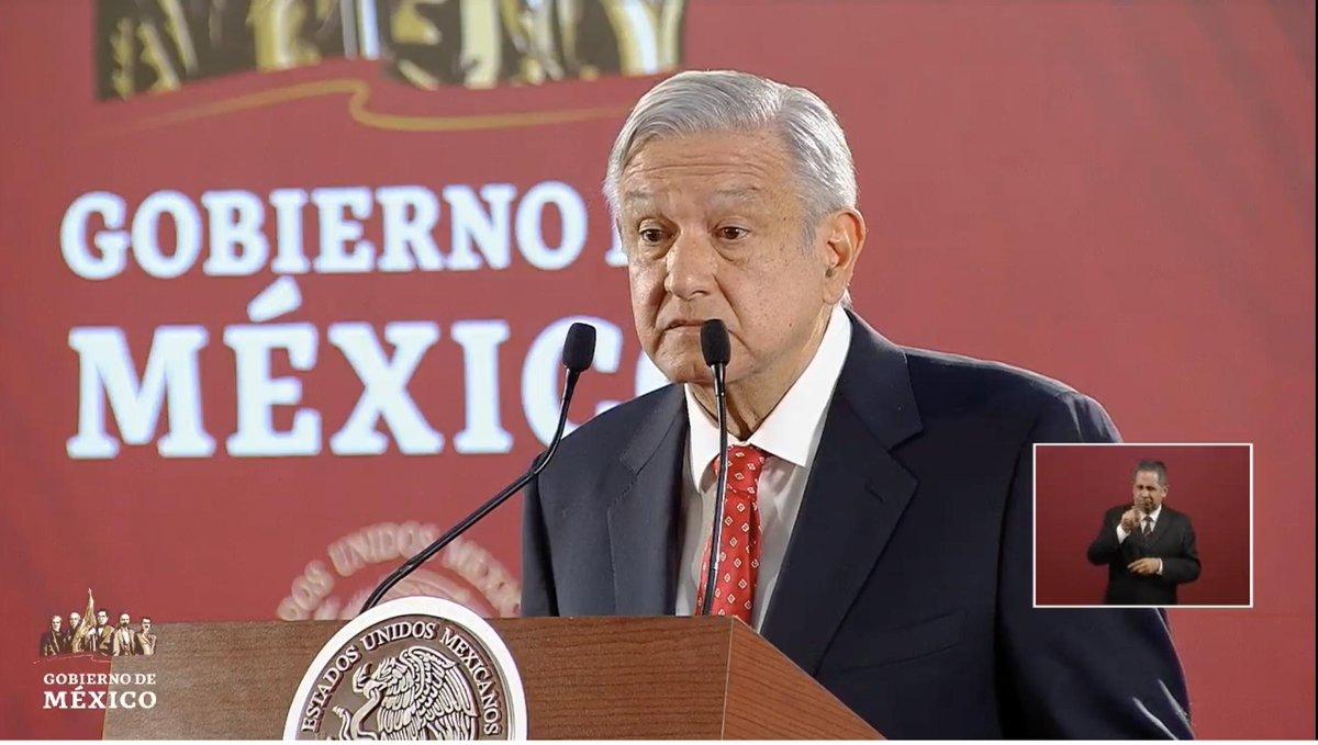 #IMPORTANTE Asegura López Obrador que recibió de Naciones Unidas dos avalúos del avión presidencial.  Podría venderse, mínimo en 150 millones de dólares, mismo que hoy dará a conocer. EN VIVO: http://bit.ly/2UEOwY5