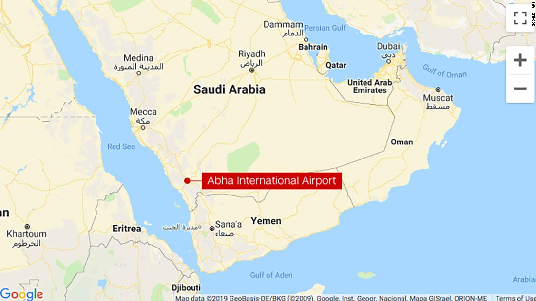 A missile fired by Houthi rebels hit the arrivals hall of Saudi Arabia's Abha International Airport, injuring 26 people, a Saudi official says https://cnn.it/2XIzv4W