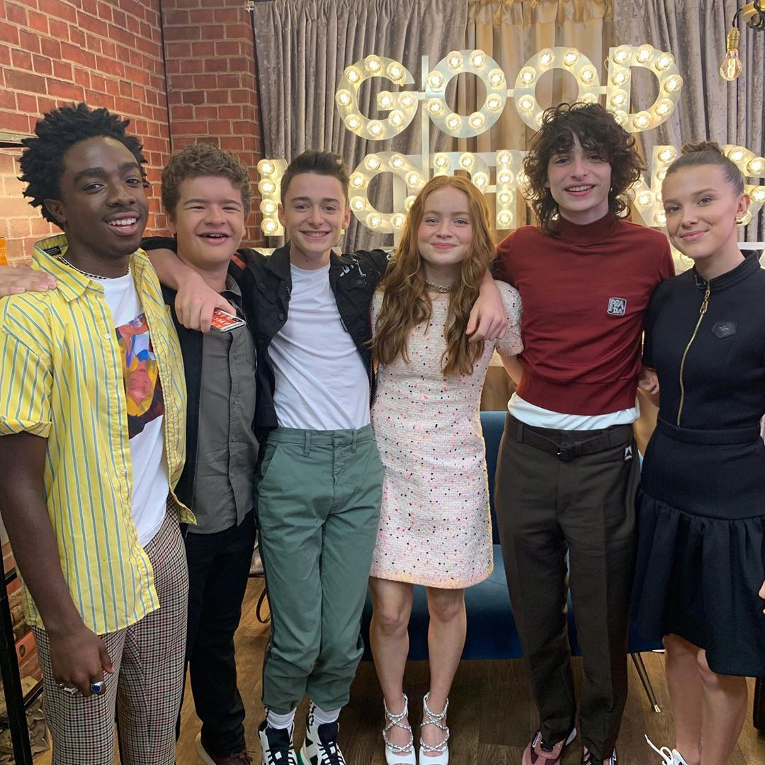 Cast of 'Stranger Things' dishes on the new season live on