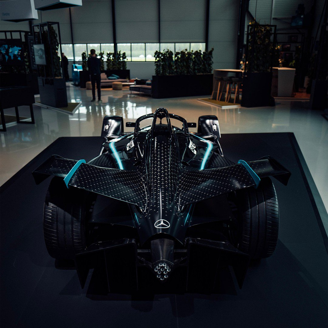 Hands up if you want to take this beast out for a ride. 🙋🏻♀️🙋🏻♂️ #drivenbyEQ #FormulaESoonHasAMercedes #ABBFormulaE