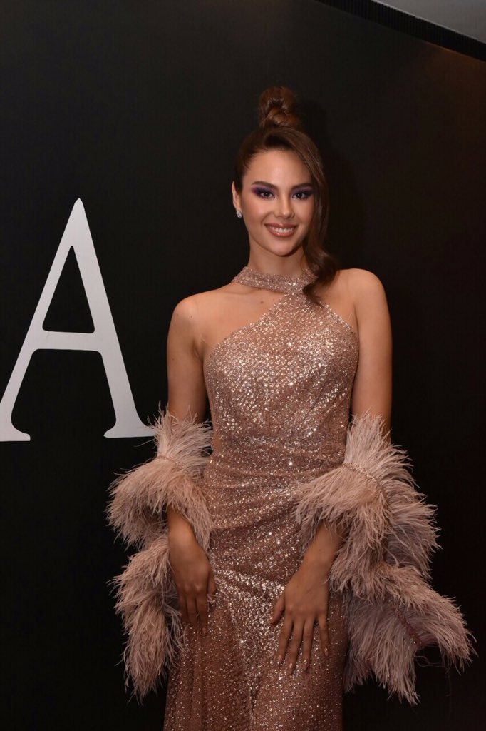 LOOK: Miss Universe 2018 Catriona Gray sports a gillter-glam look here at the MEGA Equality Ball 2019.  #MEGAForAll #MegaEquality<br>http://pic.twitter.com/54ijJSbHKU