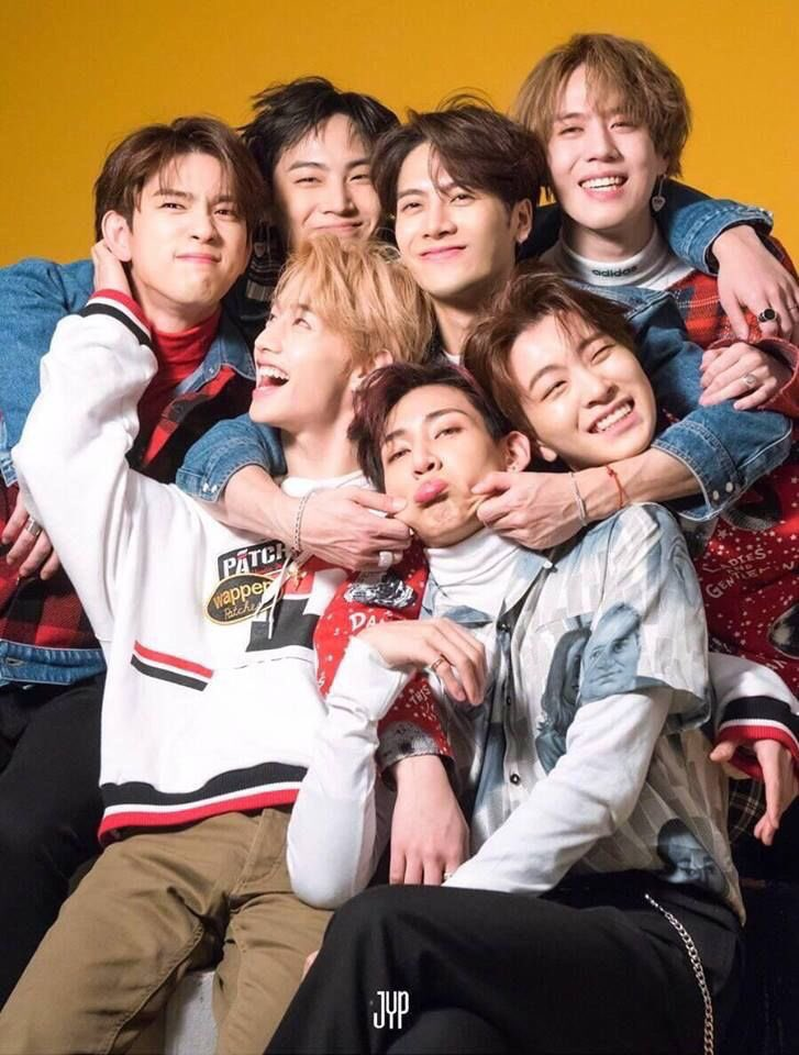 if you are not a got7 stan then that's perfectly fine. but giving them hate and telling them to disband is not cool. disbandment is one of the hardest and saddest things. these 7 men make me smile and laugh and deserve all the love and happiness. 🥺💛#WeLoveYouGOT7