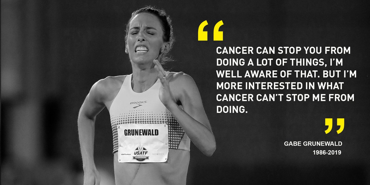 Her legacy will live forever. Rest in peace, @gg_runs
