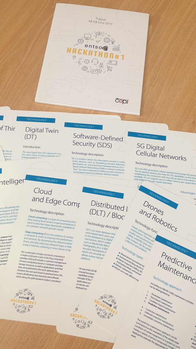 Very happy to contribute to our first #DigitalGrid #Hackathon to accelerate #Digital deployments towards #AugmentedAsset, #FutureControlRooms & #Prosumeranalytics, thanks to #Ceps for their excellent support to kick it off ! #AI #IoT @ENTSO_E @ristori20 @JMGlachant @csikow