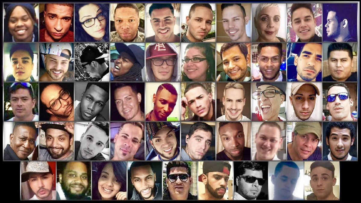 Three years ago, 49 beautiful souls were senselessly taken from us at #Pulse. Today and every day... We miss you. We love you. We will never forget you. #Pride#PulseOrlando #OrlandoUnited #SayTheirNames