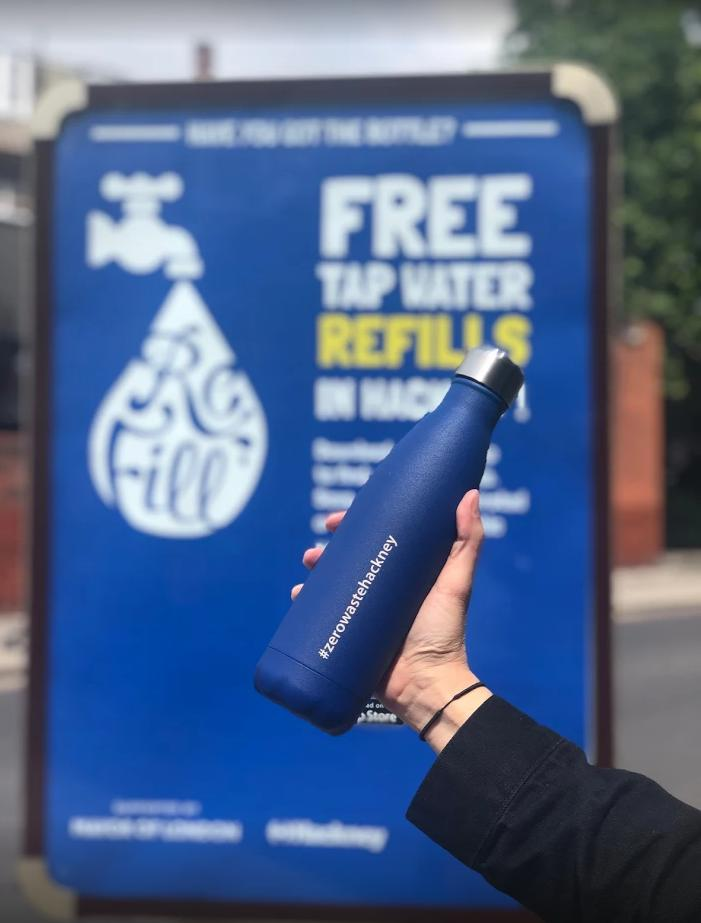 refillhackney hashtag on Twitter