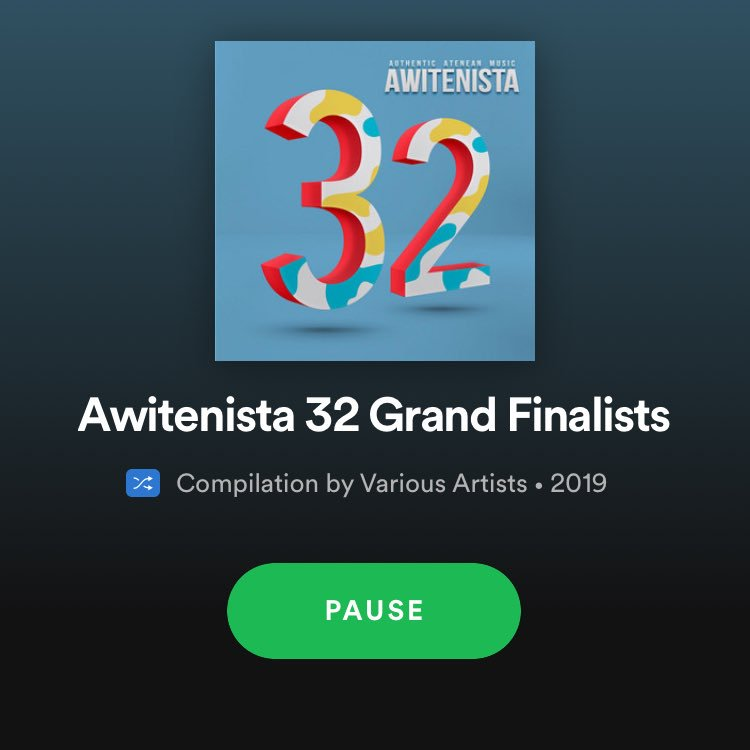 Awitenista 32, is now available on Spotify.