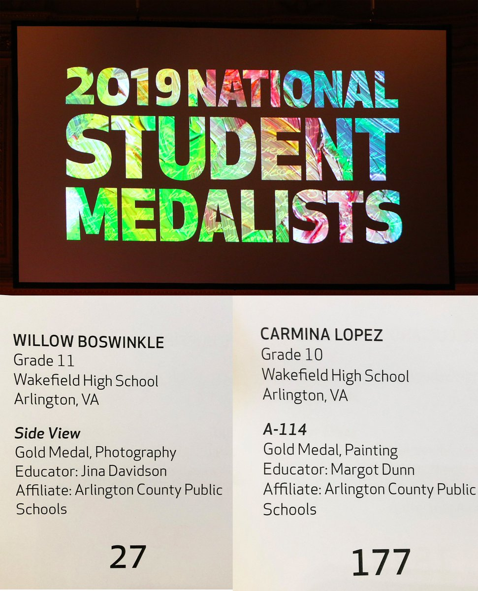 More highlights of the Scholastic Arts Ceremony in New York! <a target='_blank' href='http://twitter.com/APSArts'>@APSArts</a> <a target='_blank' href='http://twitter.com/WHSHappenings'>@WHSHappenings</a> <a target='_blank' href='http://twitter.com/principalWHS'>@principalWHS</a> <a target='_blank' href='https://t.co/EehMpAsjHV'>https://t.co/EehMpAsjHV</a>