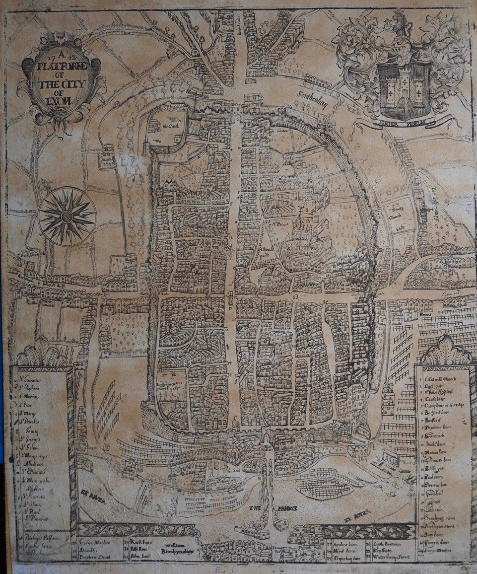 A rare map found in an attic gives an extraordinary glimpse into 18th century life in #Exeter before radical changes to the landscape and industry transformed the city.  http://www.exeter.ac.uk/news/research/title_720390_en.html…