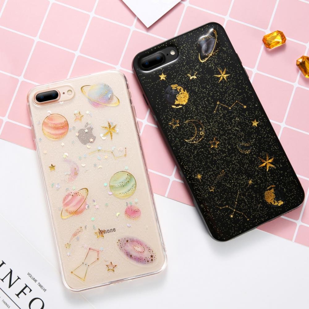 #nature #fog Glittering Planets & Stars Soft Phone Case for iPhone https://t.co/2St35gtDiO