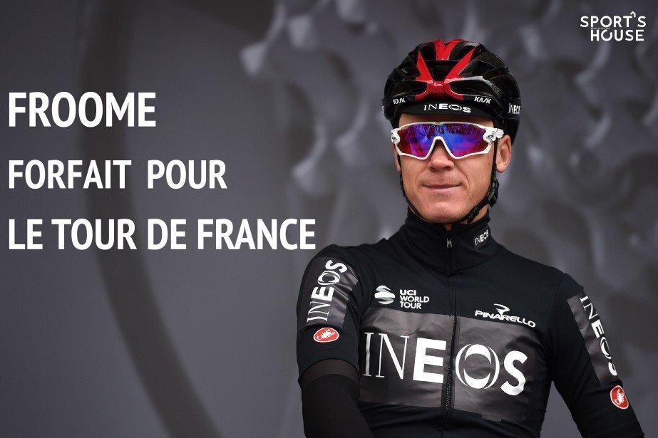 OFFICIEL : #Froome blessé au fémur ne participera pas au Tour de France ! #TDF2019