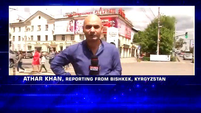 PM @NarendraModi will be at the SCO Summit in Bishkek, Kyrgyzstan, and so will TIMES NOW's #AtharKhan. Get all updates on #SCOSummit, only on TIMES NOW.
