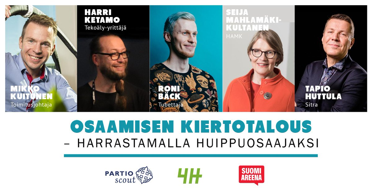 Meidän Seija @SeijaKult mukana! @SuomiAreena #SuomiAreena ✨