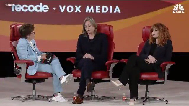 """RT @CNBC: Netflix VP of Original Content: """"We want to entertain the world."""" @Recode"""