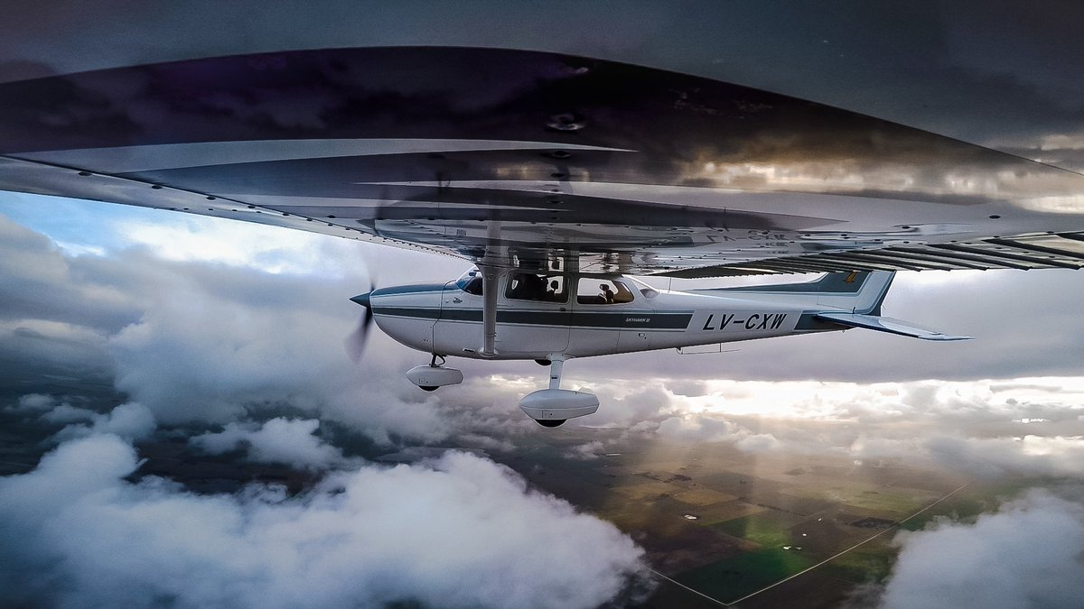 #OnThisDay in 1955, the #CessnaSkyhawk flew for the first time.   Here's to an icon still sparking the joy of flight and teaching so many of us how to become confident pilots. What's your favorite 172 memory?  Views 📸 by Agustin Rubiños  #Cessna172 #AvGeek #PilotLife #LearnToFly