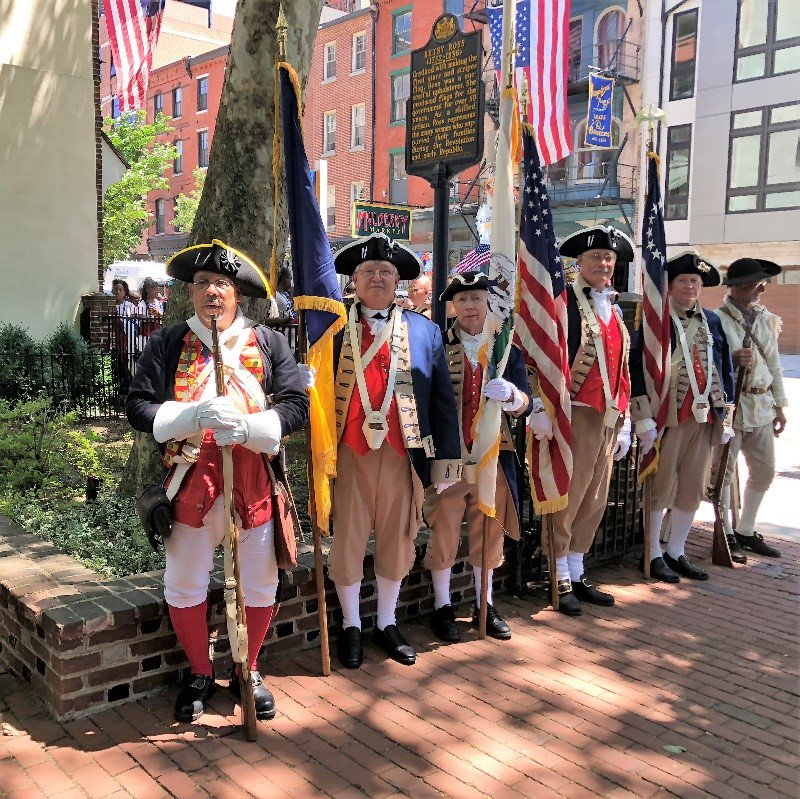 Think your morning routine is long? Stop by the Betsy Ross at 11am to learn what it took to dress in Colonial America with Breeches and Petticoats!   #betsyrosshouse #visitphilly #historicphilly #flagfest #littlerebel<br>http://pic.twitter.com/nvPe69ogR2