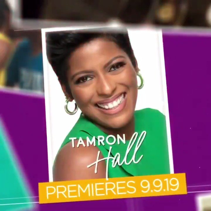 Visit TamronHallShow.com to see @TamronHall's journey from humble beginnings to becoming a talk show host!