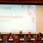 Image for the Tweet beginning: At #EurOCEAN2019 closing session Vladimir