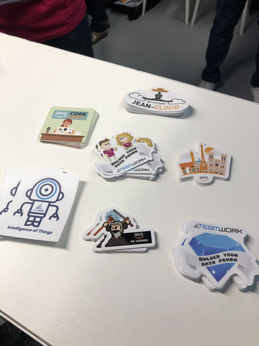 Image for the Tweet beginning: #AIPARIS La collection de stickers
