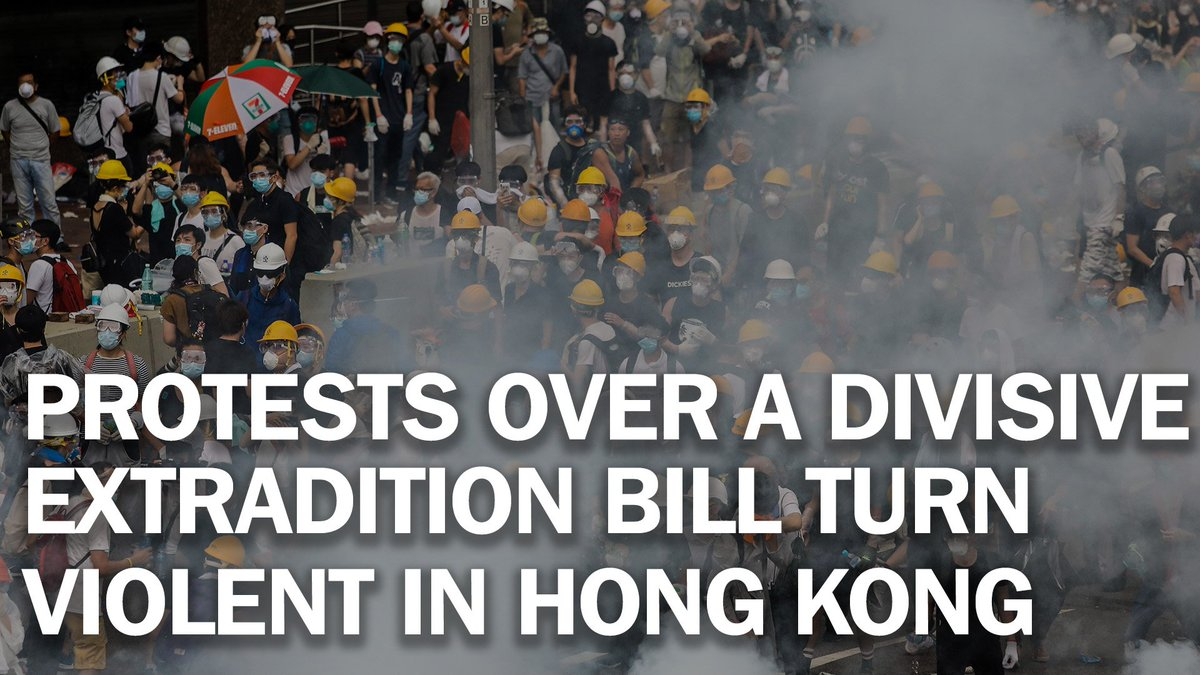 Fresh protests have forced Hong Kong to postpone its extradition bill debate http://mag.time.com/G3tt7mk