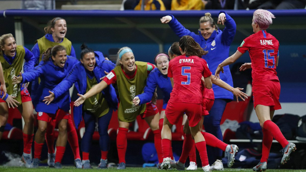 They cheered KD's injury and taunted Steph's parents.  Now they're ticked about the USWNT's Women's World Cup celebrations in a 13-goal rout of Thailand.  What gives, Canada?   https://bit.ly/2X7LXxY