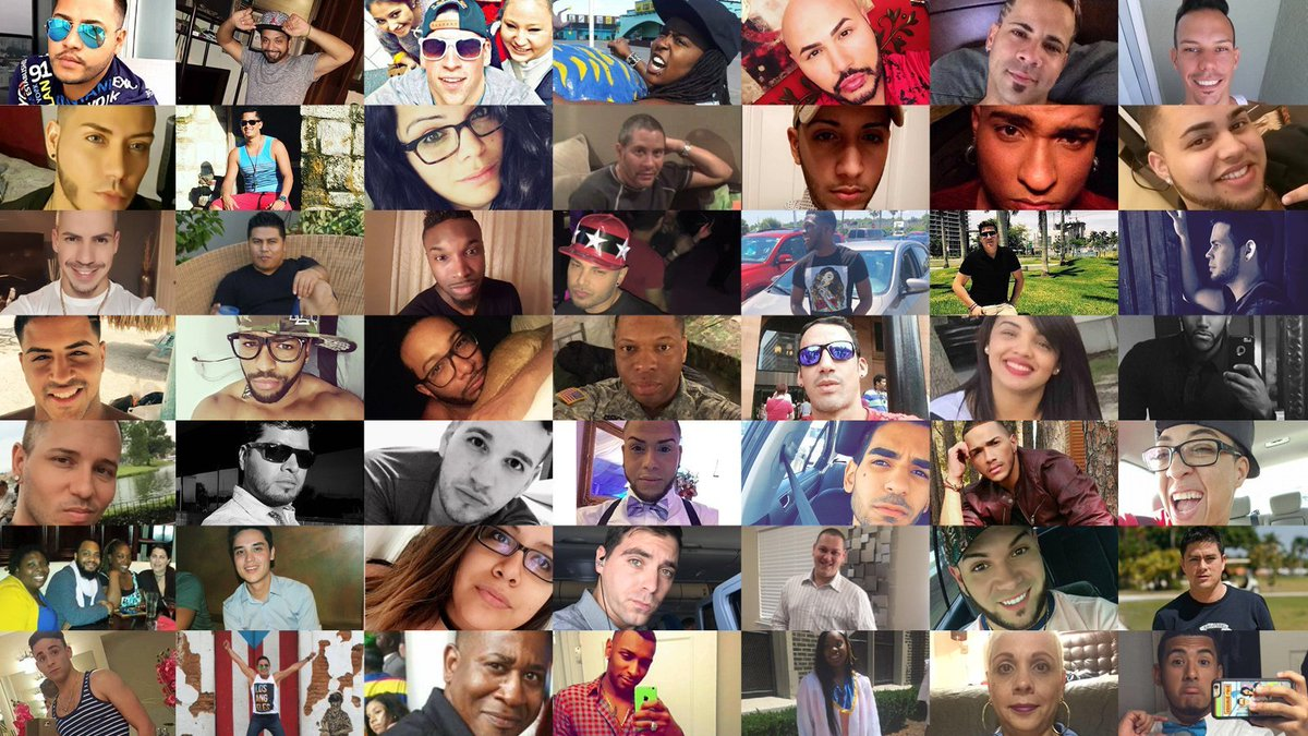 #OTD 3 years ago, 49 innocent lives were taken in a heinous act of hate. Congress must honor them with meaningful action to #endgunviolence. We must all honor them by spreading love & taking action when others spread hate & violence, especially toward our #LGBTQ family. #Pulse