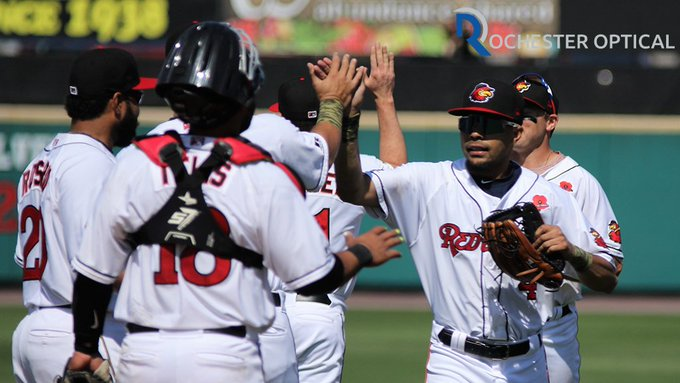 Rochester Red Wings are the hottest team in the International League