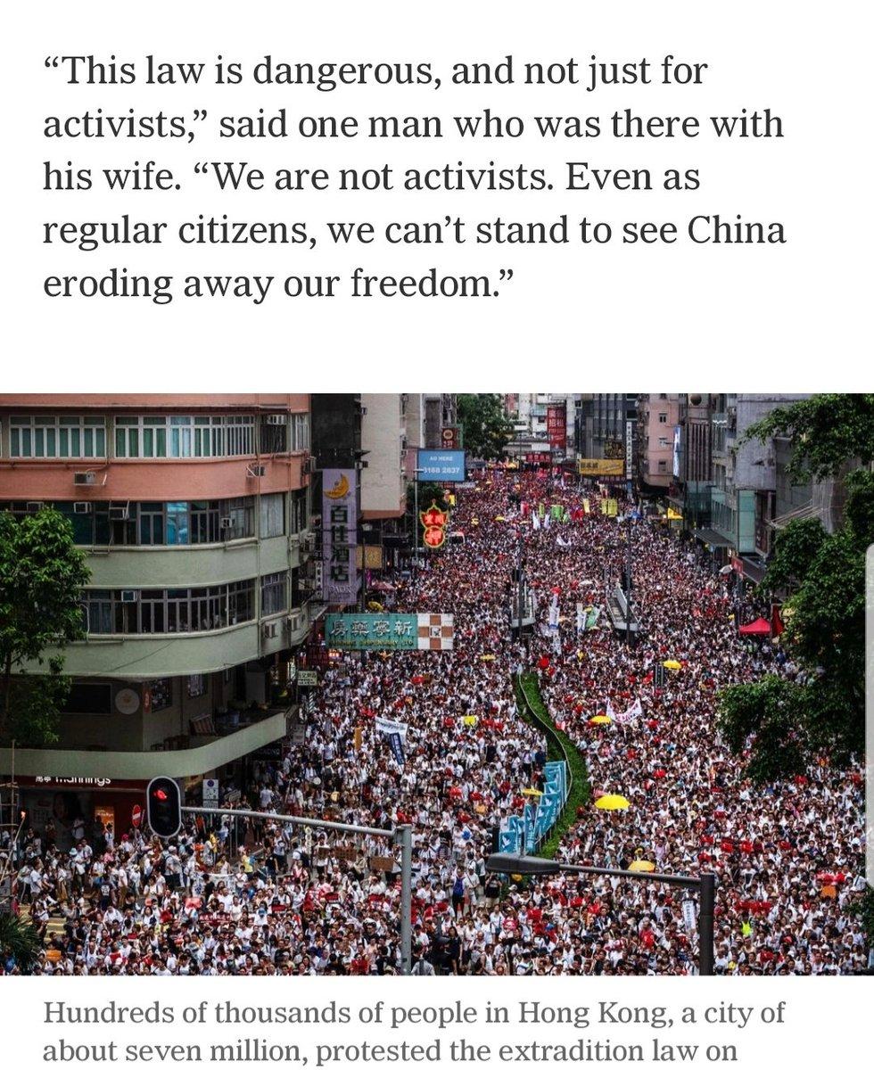 응원합니다. #HongKongProtest #NoExtraditionToChina