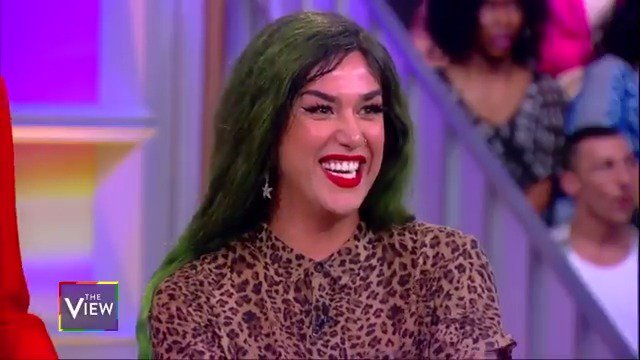 "Nina West, Monet X Change, and Adore Delano share which celebs they want to see in drag.  Adore Delano: ""I want to see @RuPual at the #MetGala in drag!"" http://abcn.ws/2XDYq9D"