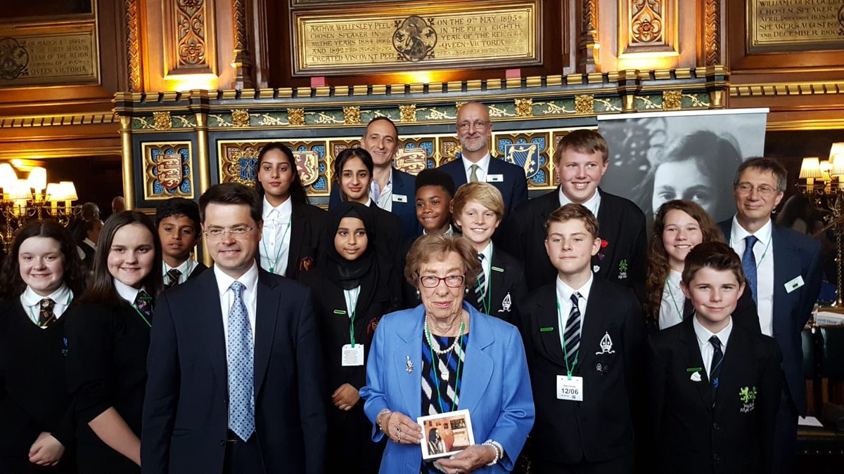 Proud of the Anne Frank Ambassadors for their professionalism in hosting a reception in Parliament to mark the 90th anniversary of Anne Franks birthday. Honoured as Eva Schloss unveiled a new portrait of Anne by the Artist Fiona Graham-McKay #istandwithanne #showyoucare<br>http://pic.twitter.com/qgSaL6aitF