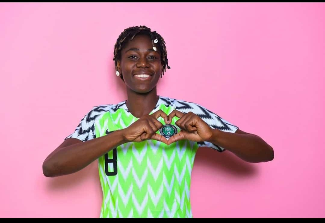 What a goal!!! #SuperFalcons #NGAKOR<br>http://pic.twitter.com/lFcWNA3Xxa