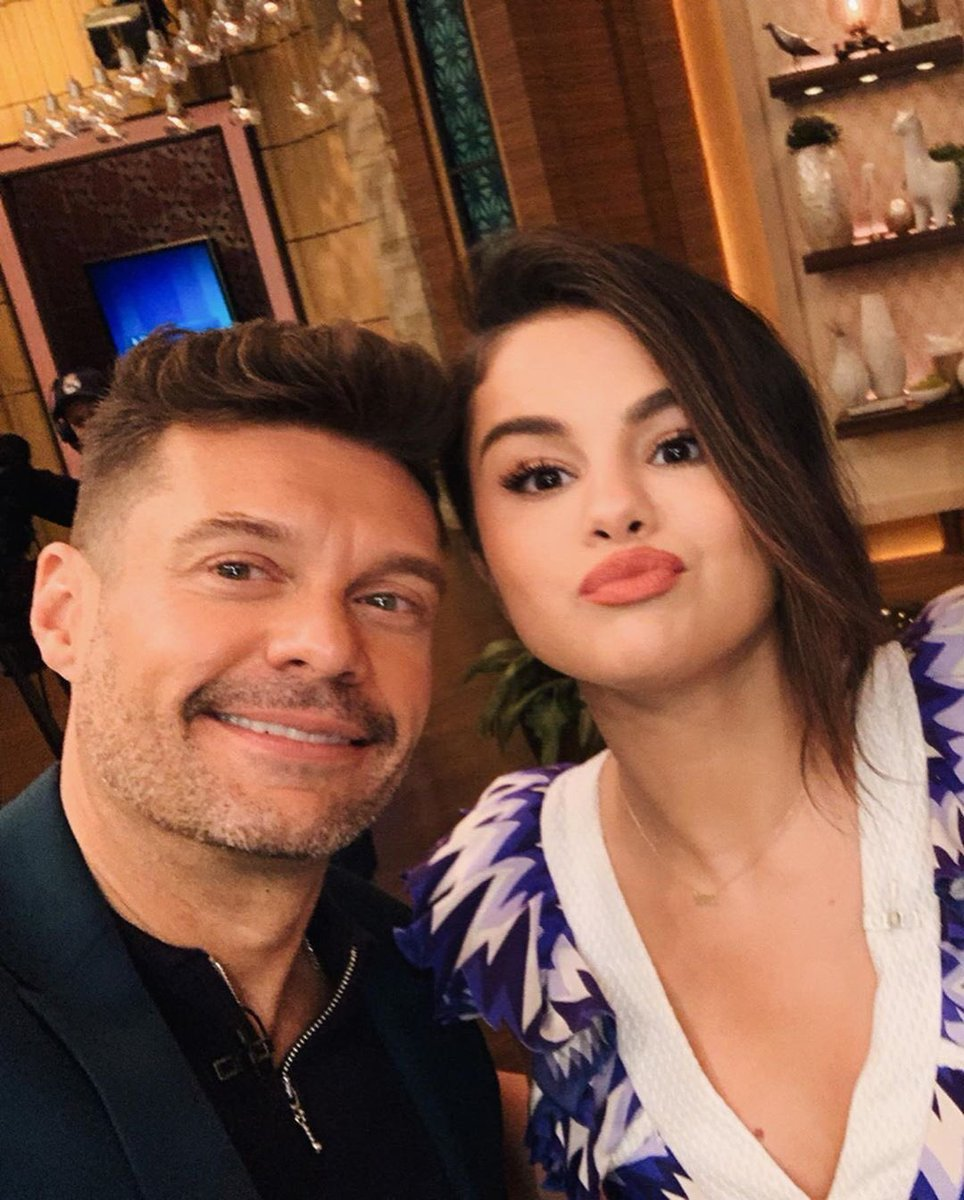 IG | @RyanSeacrest: #SG3 is 100% dropping this year and there's a 0.01% chance of me and Ripa starring in a music video. Can't wait @SelenaGomez!