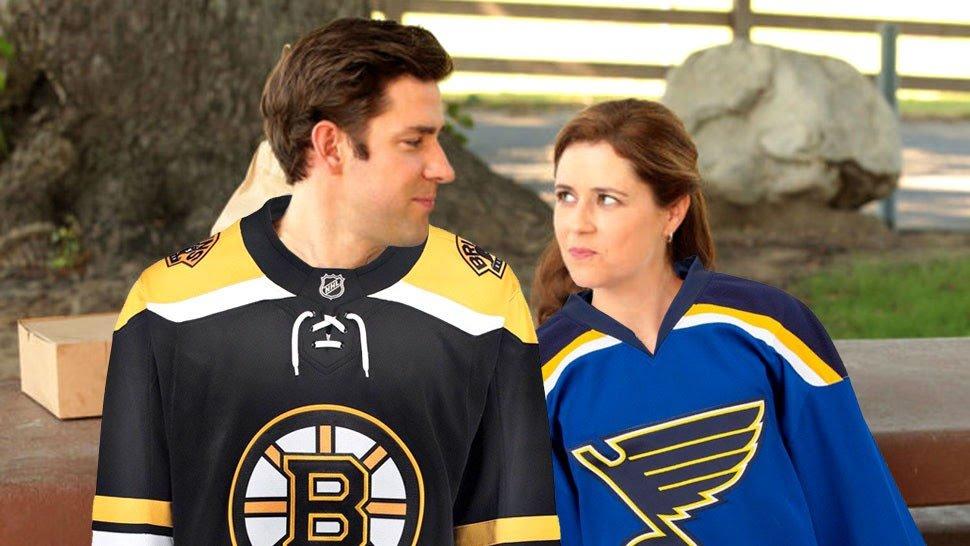 It all comes down to tonight. Game 7. #LetsGoBlues #StanleyCup #Gloria #TeamPam @StLouisBlues @NHL @johnkrasinski