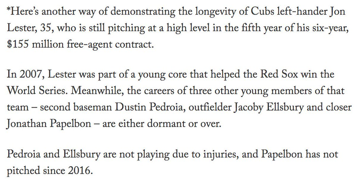 A fun bit of BDJ in the latest from @Ken_Rosenthal: theathletic.com/1023278/2019/0…