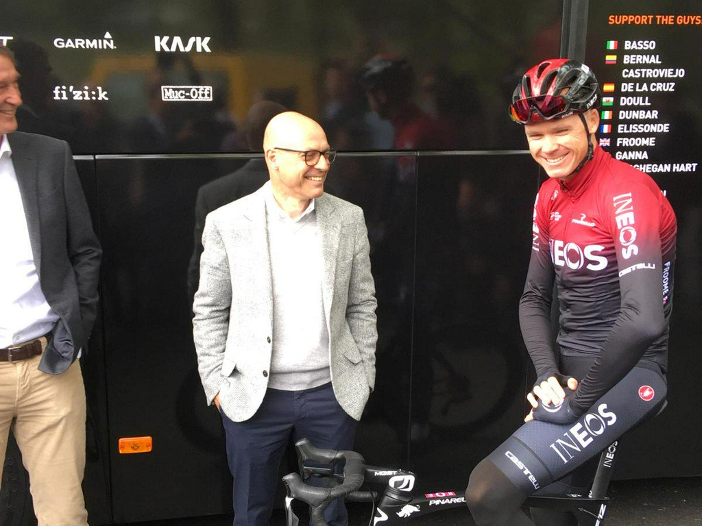 Froome ruled out of Tour de France https://reut.rs/2I9pjNw