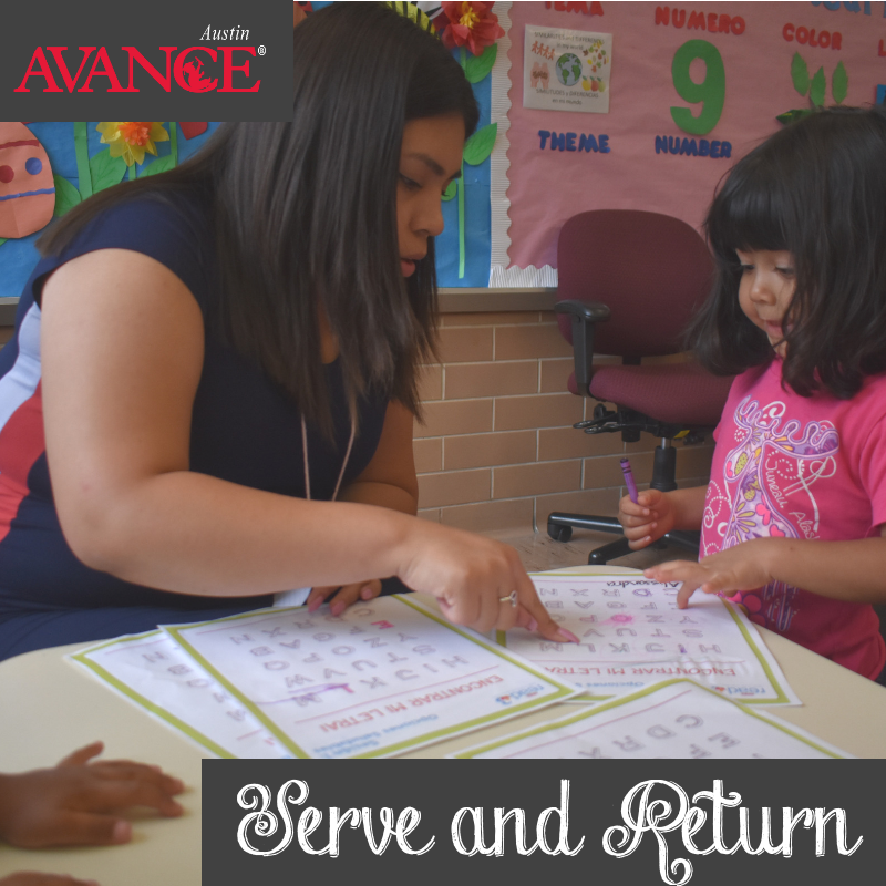"""Happy #WisdomWednesday! The @HarvardCenter describes child-adult relationships with lots of back & forth interactions """"serve and return"""".   We #ServeAndReturn by building strong connections in developing brains that are needed for all future learning and development.<br>http://pic.twitter.com/1t39E7Uv0A"""