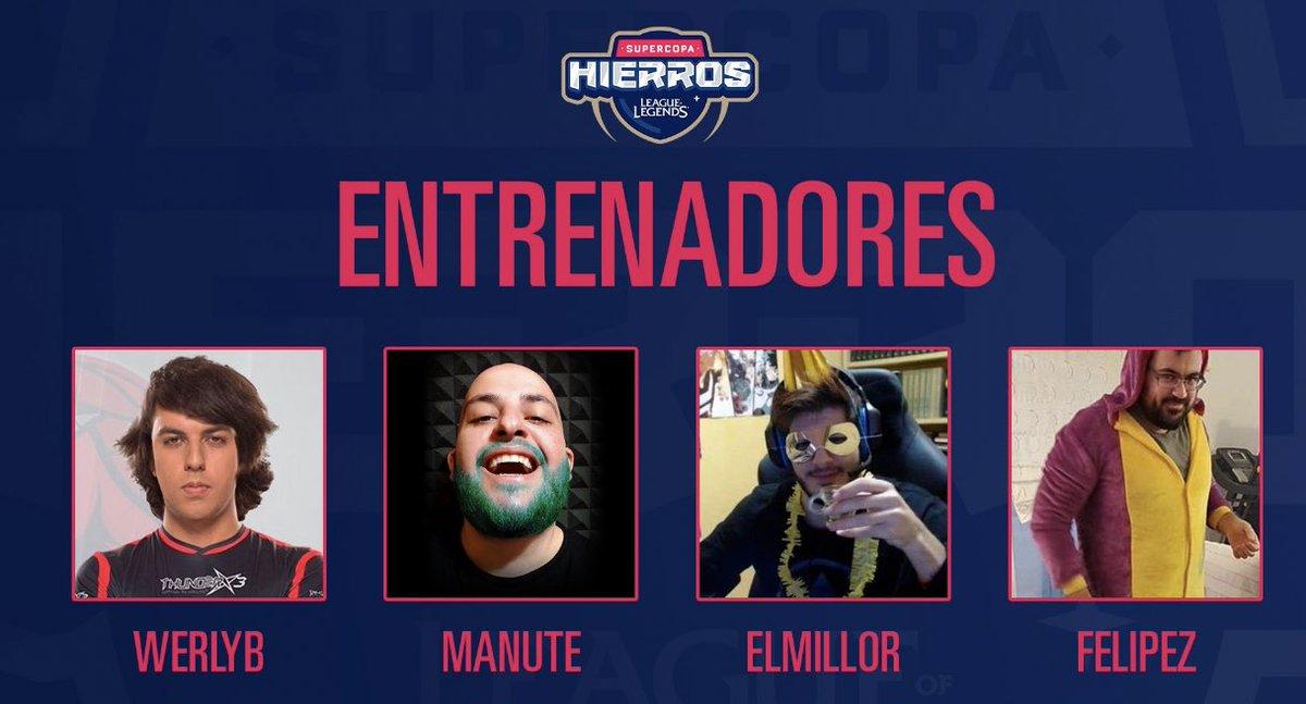 Werlyb, Manute, ElMillor y Felipez,serán los entrenadores de los cuatros equipos