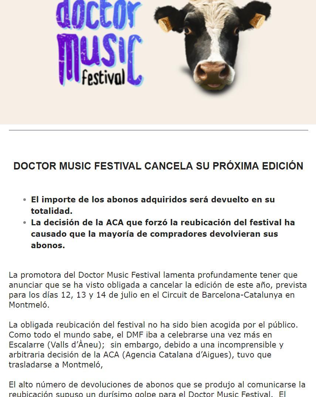 Doctor Music 2019. Rosalia se carga uno de los festivales más exitosos de la península con su humillante primer fracaso - Página 2 D83sK7WX4AAhUqA