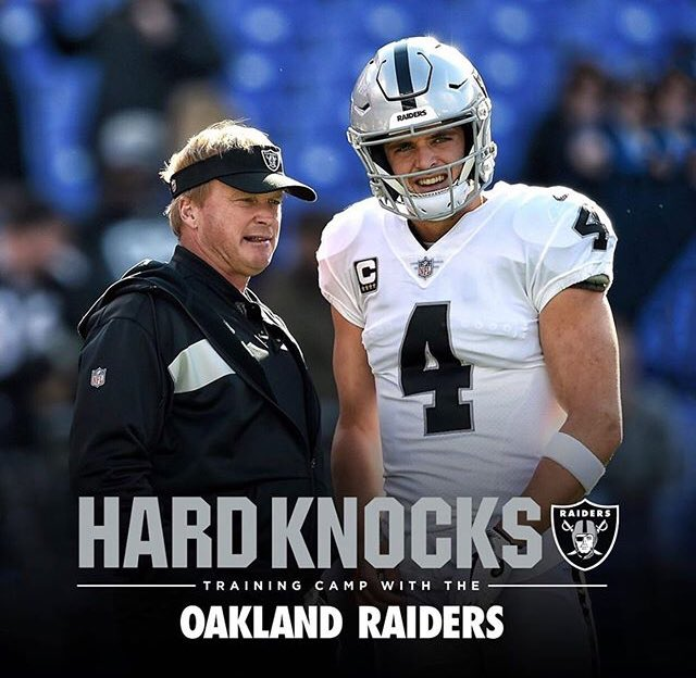 Hard knocks 2019 w/ the Oakland Raiders!! Who's Excited? <br>http://pic.twitter.com/aYoTx8rnoK