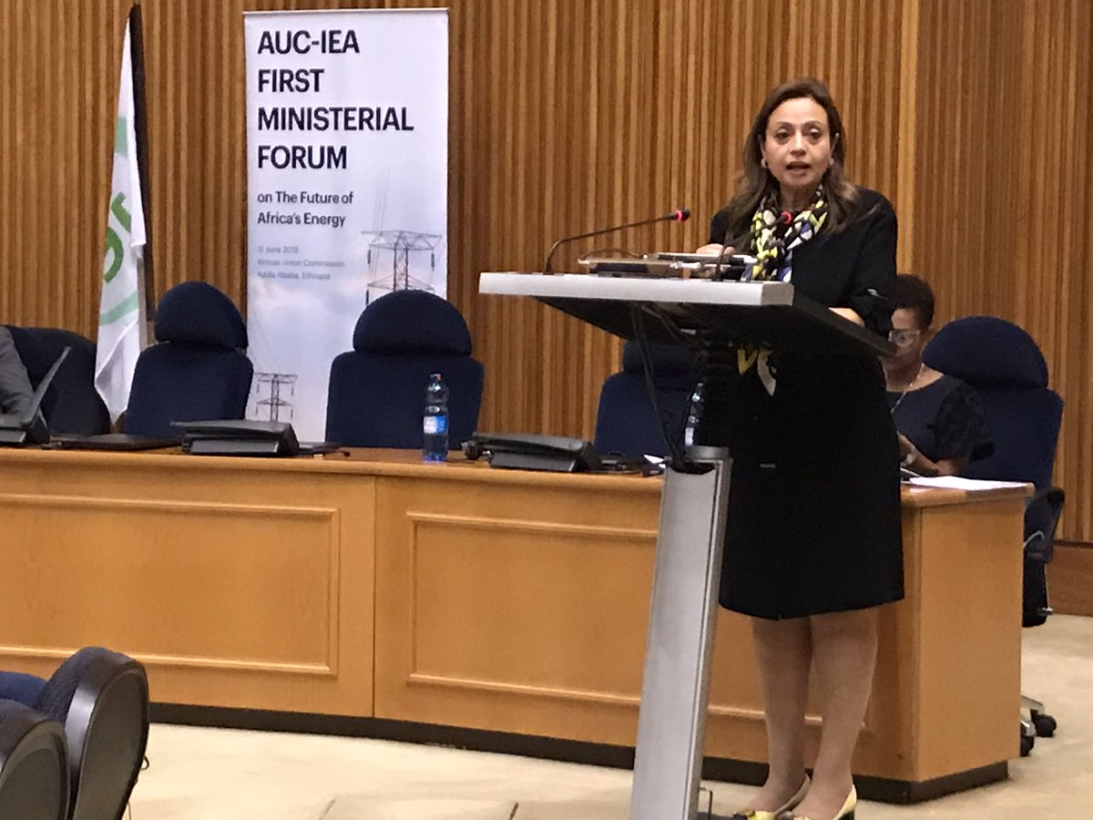 @HEDrAbouZeid closes @au_ied and @IEA first ministerial forum emphasizing importance & centrality of forging partnerships in #energy sector to make significant contribution to the sector and contribute immensely to the quality of life for millions of Africans @IEABirol