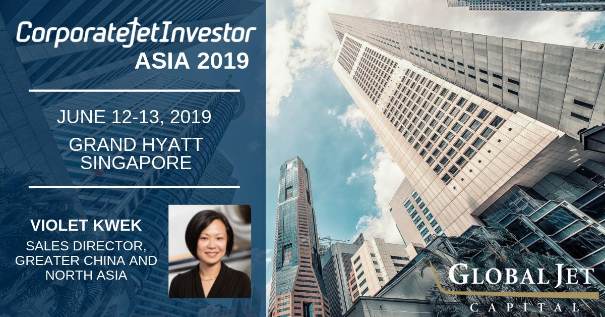 Global Jet Capital's Violet Kwek shared her aircraft financing insight today at @CorpJetInvestor Asia. We look forward to learning more about opportunities and strategies in the growing Asian market tomorrow. #cjiasia #cjiasia2019 #bizav