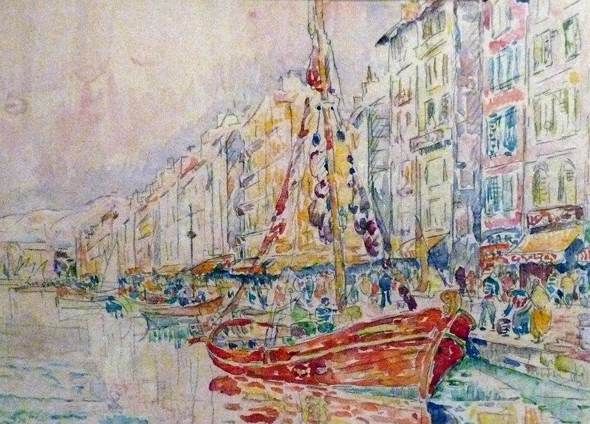 An Old port of Marseille #frenchart #impressionism<br>http://pic.twitter.com/8FhqgtUhe2