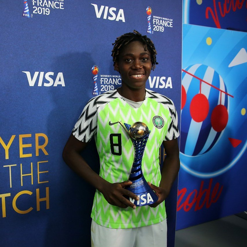 Your Match Winner. WCW. #SuperFalcons #NGAKOR<br>http://pic.twitter.com/EmqnuxWgiD