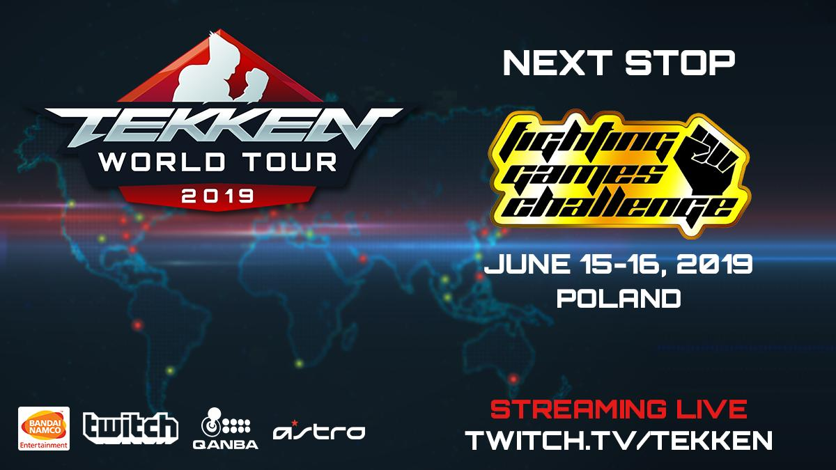 We're headed to Poland for @FGChallengePL the next Master Event on the TEKKEN World Tour. #TWT #TWT2019 #FGC <br>http://pic.twitter.com/ljJo6fB4oo